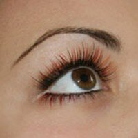 Colours Glitters Eyelash Extensions Gallery