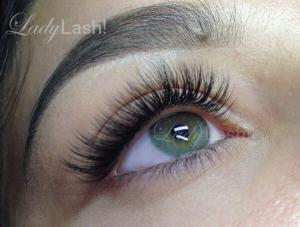 Russian Volume Eyelash Extensions 2D 3D at Lady Lash Newtown and Parramatta