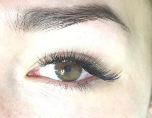 Close up of 3D Russian Volume Lashes
