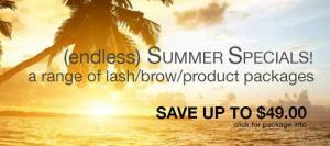 Sydney Eyelash Extension Endless Summer Promotion
