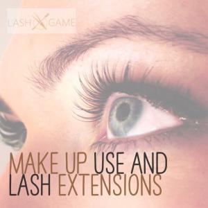 Makeup Use and Eyelash Extensions