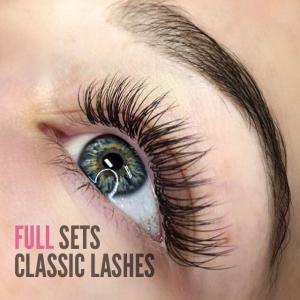 Eyelash Extension Full Set Classic Lashes Photos
