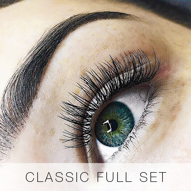 Classic Full Set of Eyelash Extensions