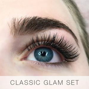 Classic Glam Set of Eyelash Extensions