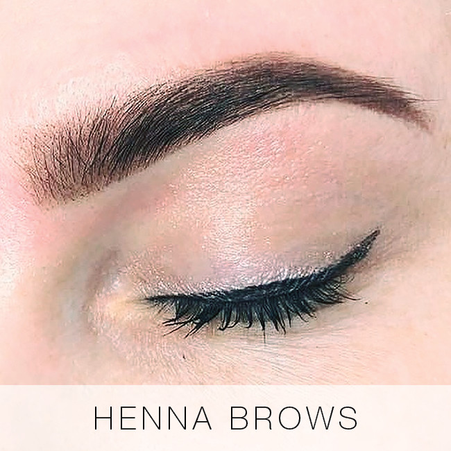 Henna Brows at Lady Lash
