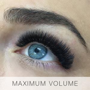 Maximum Volume Eyelash Extensions at Lady Lash