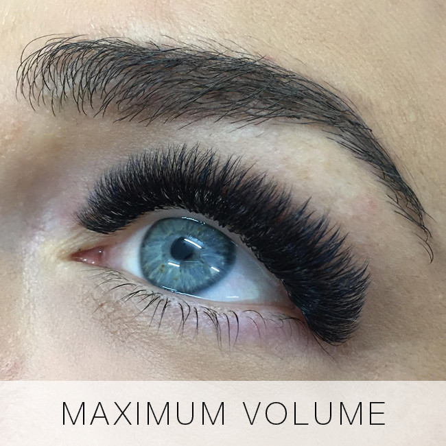 Maximum Volume Eyelash Extensions at Lady Lash
