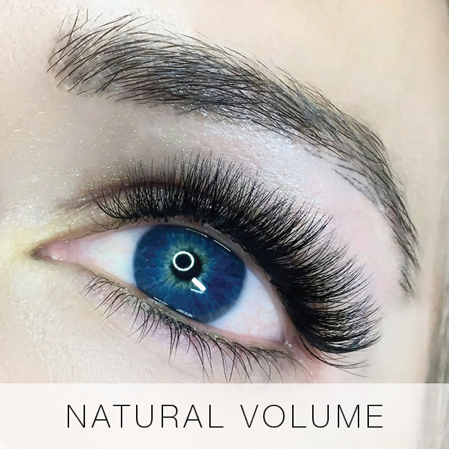 Natural Volume Set of eyelash Extensions