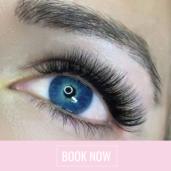 Natural Volume Eyelash extensions at Lady Lash