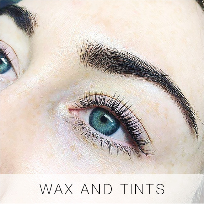 Wax and Tints at Lady Lash