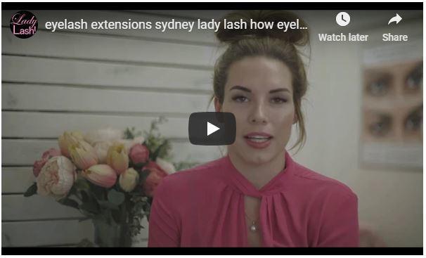 Eyelash extensions sydney